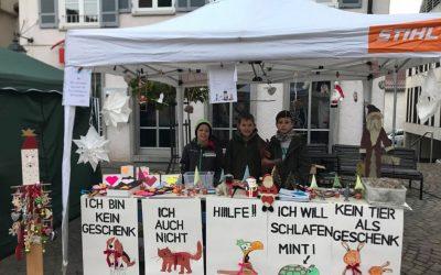 Spendensammlung fürs Tierheim
