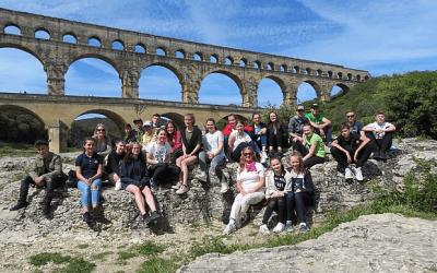 """""""Sur le pont d'Avignon…"""" – Frankreich-Studienfahrt"""